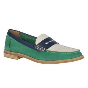 Sperry Shoes - Sperry Top Slider Seaport Tri-Tone Penny Loafer
